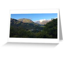 Patterdale Fells in the Lake District National Park, UK Greeting Card