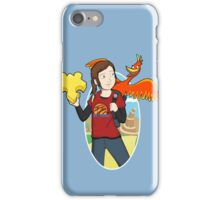 Ellie & Kazooie going on an Adventure. iPhone Case/Skin