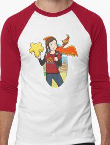 Ellie & Kazooie going on an Adventure. Men's Baseball ¾ T-Shirt