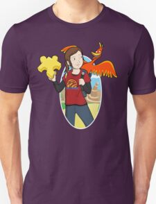 Ellie & Kazooie going on an Adventure. Unisex T-Shirt
