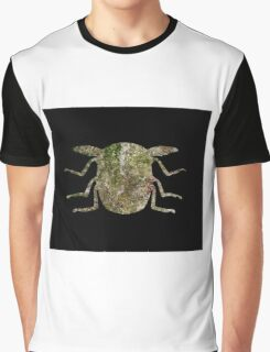 Insect Texture Outline Black 2 Graphic T-Shirt