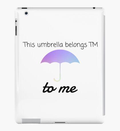 HIMYM Umbrella Quote iPad Case/Skin