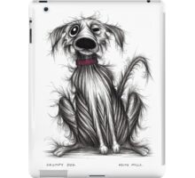 Grumpy dog iPad Case/Skin
