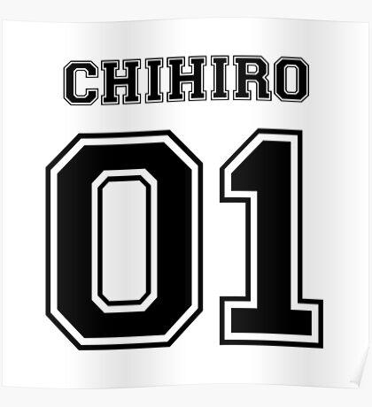 Spirited Away - Chihiro Ogino Varsity Poster