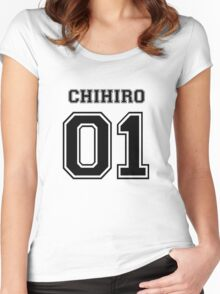 Spirited Away - Chihiro Ogino Varsity Women's Fitted Scoop T-Shirt