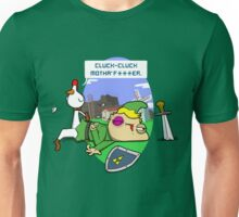 Cluck Cluck Motha' F***er.  Unisex T-Shirt