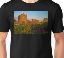 Ireland. County Clare. Knappogue Castle. Sunset. Unisex T-Shirt