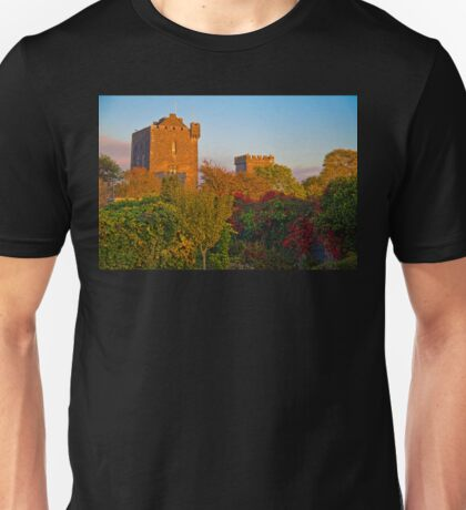 Ireland. County Clare. Knappogue Castle. Sunset. T-Shirt