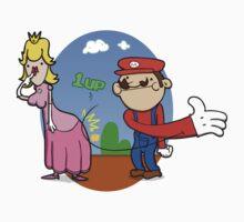 Princess Peach is in da' castle! Kids Tee