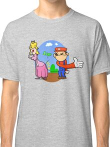 Princess Peach is in da' castle! Classic T-Shirt