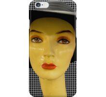 black hat iPhone Case/Skin