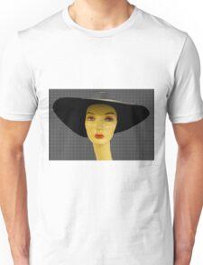 black hat Unisex T-Shirt