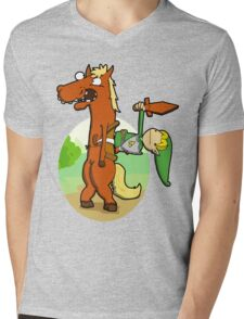 Inbred Epona. Mens V-Neck T-Shirt