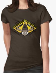 Battleship Dalek 1963 Womens Fitted T-Shirt