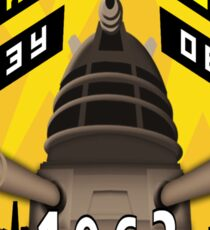 Battleship Dalek 1963 Sticker