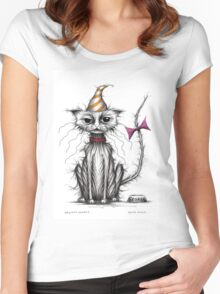 Grumpy George Women's Fitted Scoop T-Shirt