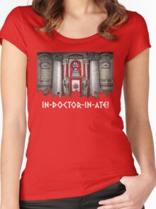 Dalek Pope XVII Women's Fitted Scoop T-Shirt