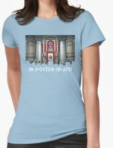 Dalek Pope XVII Womens Fitted T-Shirt