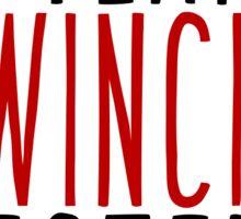 Team Winchester!  Sticker