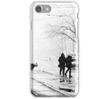 snowfall. march iPhone Case/Skin