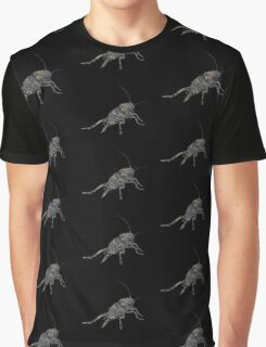 Insect Texture Outline Black 4 Graphic T-Shirt