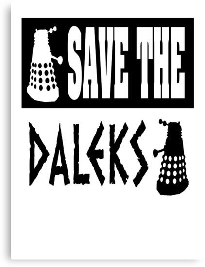 Save the Daleks by ToneCartoons