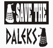 Save the Daleks Baby Tee