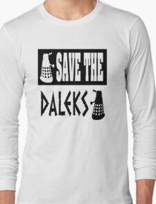 Save the Daleks Long Sleeve T-Shirt