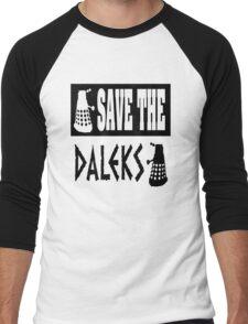 Save the Daleks Men's Baseball ¾ T-Shirt