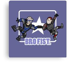 Bro's 4 life - Mass Effect Canvas Print