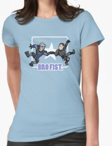 Bro's 4 life - Mass Effect Womens Fitted T-Shirt