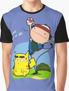 Gunna' Catch 'Em All! Graphic T-Shirt