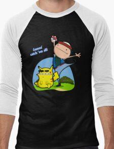 Gunna' Catch 'Em All! Men's Baseball ¾ T-Shirt