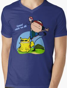 Gunna' Catch 'Em All! Mens V-Neck T-Shirt