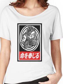 Super Saiyan vortex Aesthetics Women's Relaxed Fit T-Shirt