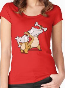 Number 104 and 105 Women's Fitted Scoop T-Shirt