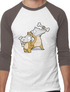 Number 104 and 105 Men's Baseball ¾ T-Shirt