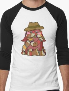 Fourth Doctor Penguin - Doctor Who Men's Baseball ¾ T-Shirt