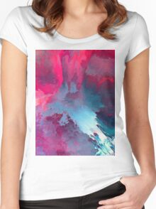 Abstract 54 Women's Fitted Scoop T-Shirt