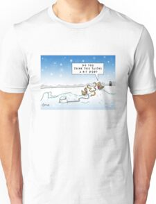 An Ood in Winter Unisex T-Shirt