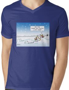An Ood in Winter Mens V-Neck T-Shirt