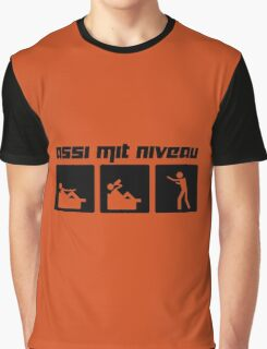 Assi mit Niveau Graphic T-Shirt