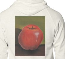 Apple Pastel Zipped Hoodie