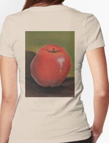 Apple Pastel Womens Fitted T-Shirt