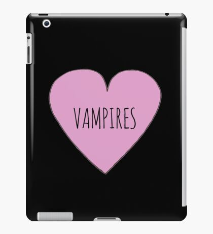 Vampire Love iPad Case/Skin