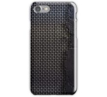 metal cracks iPhone Case/Skin