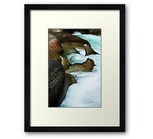 The Boulders  Framed Print
