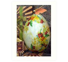 Easter gift Art Print