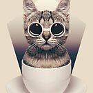 Caffeinimals: Cat by Lasse Damgaard
