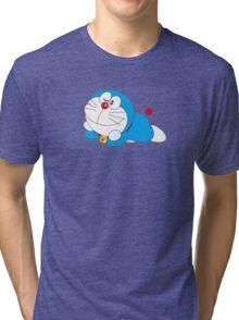doraemon cartoon Tri-blend T-Shirt